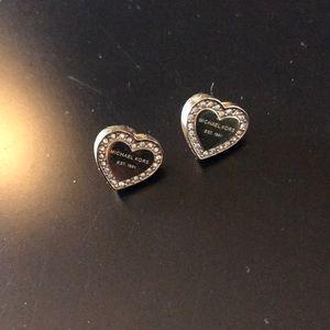 Gold Michael Kors earrings